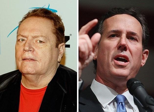 Larry Flynt & Rick Santorum