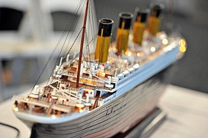 Scale Model Titanic