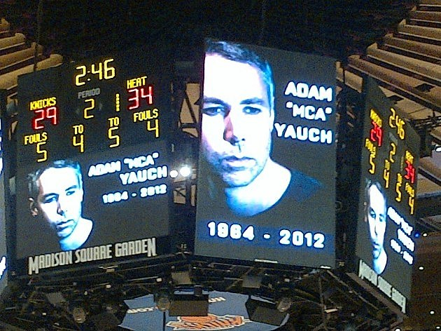 Adam Yauch honored at Madison Square Garden