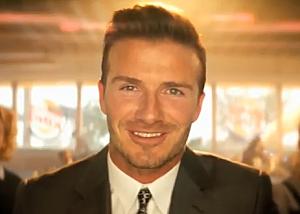 David Beckham for Burger King