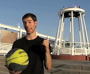 Dude Perfect plays basketball