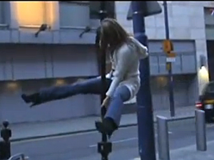 Urban Pole Dancing