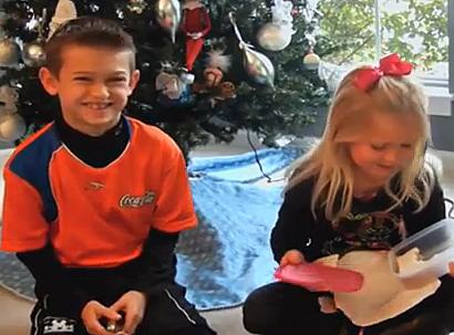 Kids get bad gifts