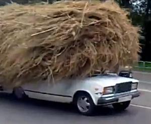A driver in Russia