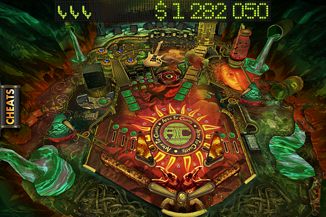 Alice in Chains Pinball Rocks