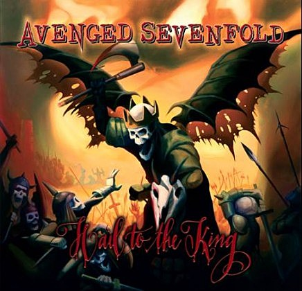 Avenged Sevenfold new album Hail to the King cover