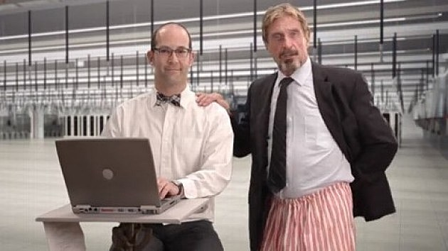 "John McAfee ""How to Uninstall McAfee Antivirus"""