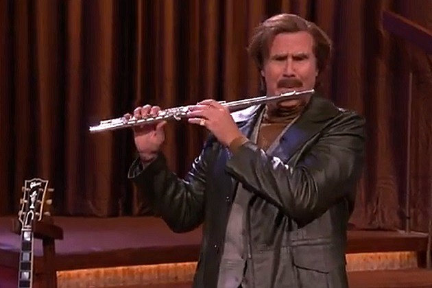 Ron Burgundy on Conan