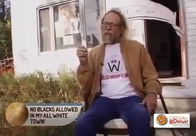 White Supremacist learns he's part black