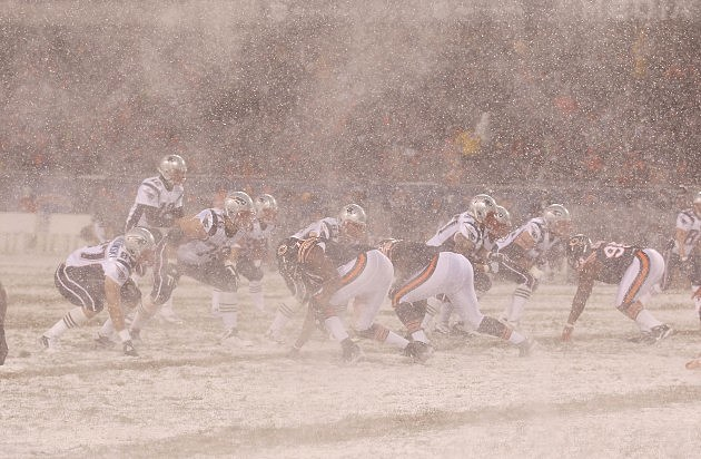nfl snow game