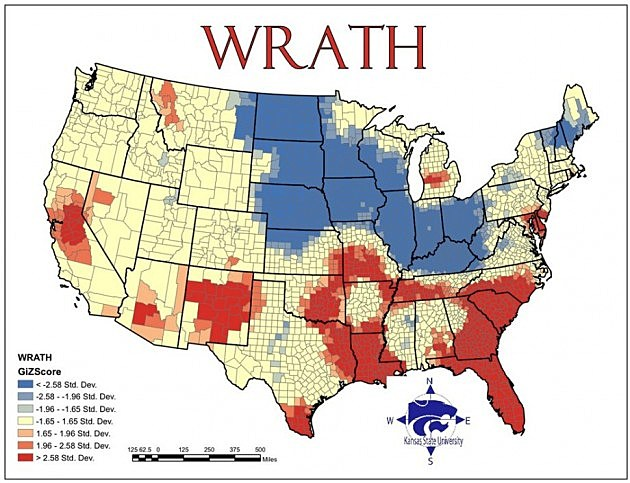 map of wrath