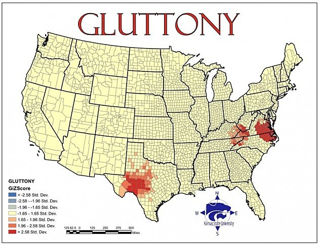 map of glutoney