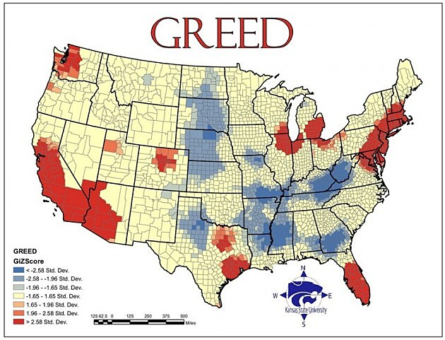 map of greed