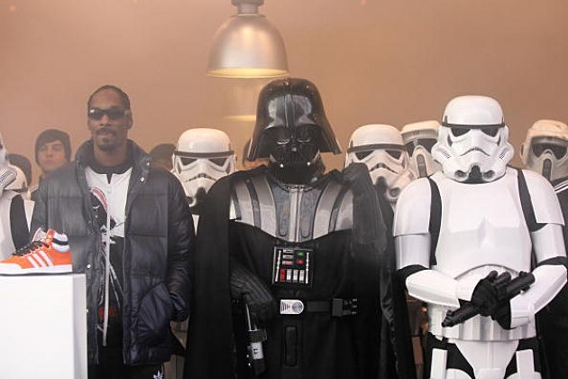 The Empire has landed! with Snoop Dog