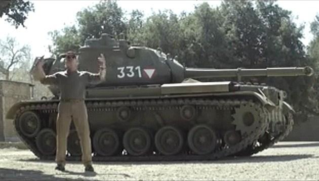 Arnold Schwarzenegger's Tank