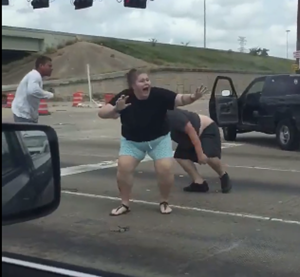 Bad Case Of Road Rage Breaks Out In Texas