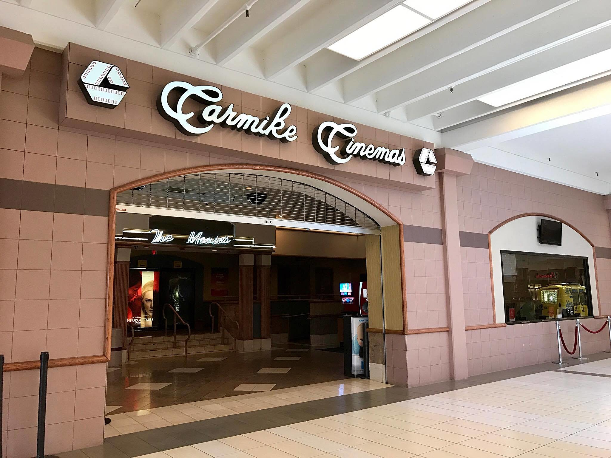 Mall theater getting upgrades