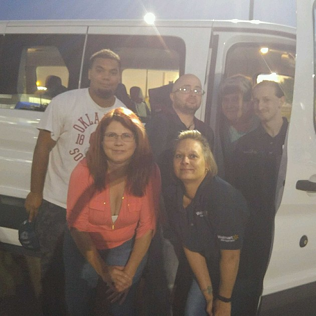 Wichita Falls Walmart employees go to Houston for Hurricane Harvey relief