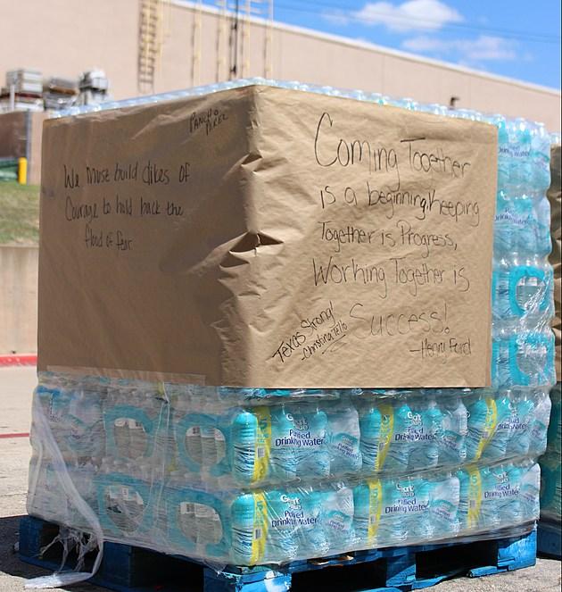 Wichita Falls Walmart water donation